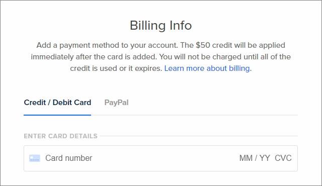 もしクレジットカードを持ってるなら「Credit / Debit Card」できる。もし持っていない場合は・・・