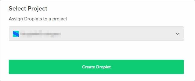 サーバーのOSやデータセンターの場所、あと色々設定したら「Create Droplet」ボタンをクリック。しばらくするとVPSサーバーが立ち上がる