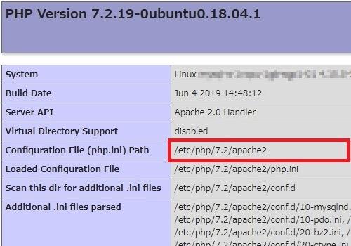phpinfo(); を実行して 【Configuration File (php.ini) Path】 の値を見ればphp.iniの場所が分かる